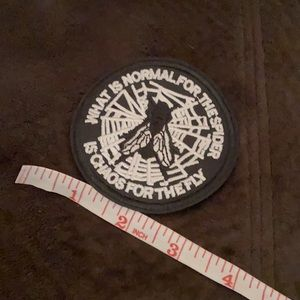 FLY PATCH FOR JEAN JACKET